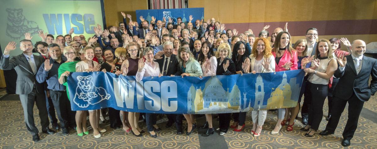 WISE konferencia résztvevők csoportképe
